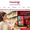 Página de inicio de Primaprix