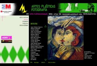 Sección artes plásticas Movida