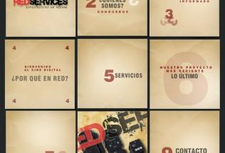 Página de inicio de RedServices