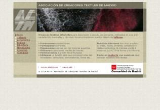 Página de inicio de ACTM