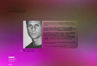 Página de biografía de Ángel Rodríguez