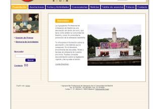 Página de inicio de Agrupación Artesanos