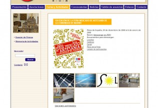 Zoom image from Web Agrupación Artesanos