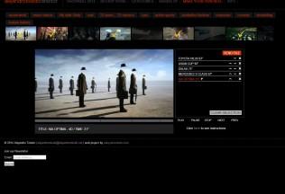 Aplicación interactiva de web de Alejandro Toledo