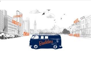 Página de inicio de Buddies and Co