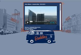 Sección de noticias de Buddies and Co