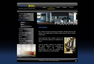 Sección de Productos de Ferasol