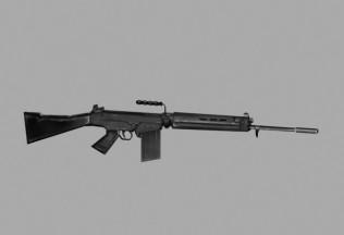 Fusil de Asalto 3D