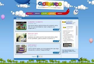 Página de inicio de Globeando