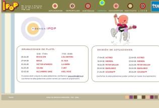 Sección agenda de Ipop
