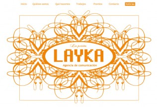 Página de inicio de La Perrita Layka