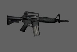 Fusil M4 3D