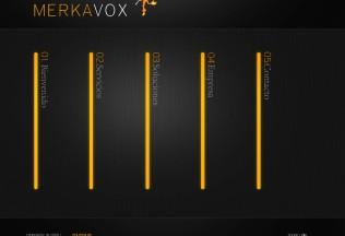 Página de inicio de Merkavox