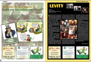 Secciones variadas de Paréntesis Magazine