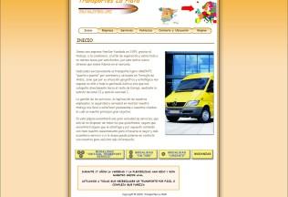 Página inicio de Transportes La Plata