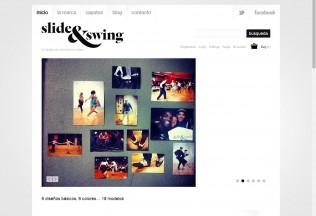 Página de inicio de Slide&Swing