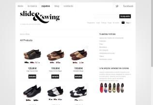 Catálogo de Zapatos de Slide&Swing