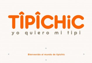 Página de inicio de Tipichic