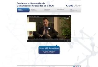 Página de inicio de UOC Alumni