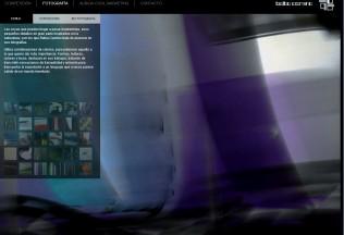 Sección de fotografía de la web de Balba Camino