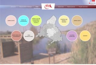 Página de ruta de la web Madrid Birdwatching.
