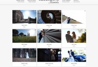 Sección de Vídeos de bodas de Recording Moments