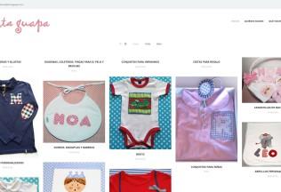 Portada del catálogo online de Carita Guapa