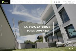 Página de inicio de Ventux Exclusive