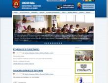 Web Colegio Alba