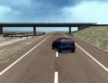 Simulación Accidente Coche