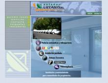 Web Antenas Luyano