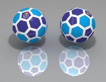Modelado balón profesional
