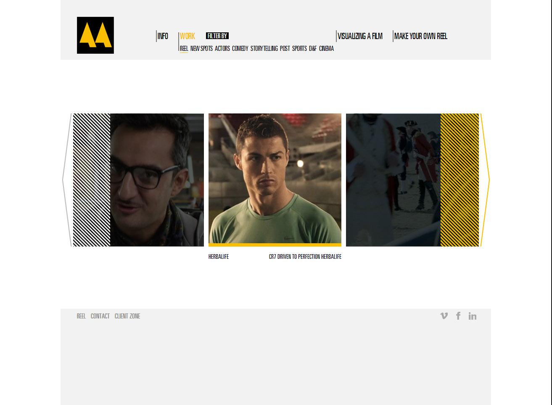 Web Marco de Aguilar | Dimensión Multimedia