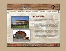 Web casa rural El Navarón