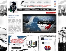 Web libro Después de la Nieve