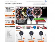 Tienda online PadelMarket