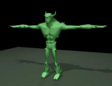 Modelo 3d videojuego