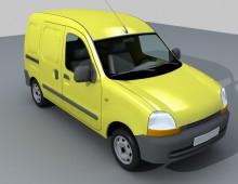 Modelado furgoneta
