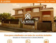 Web La Noria – Alojamiento para estudiantes